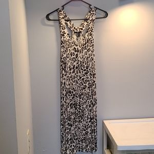 Cheetah H&M dress